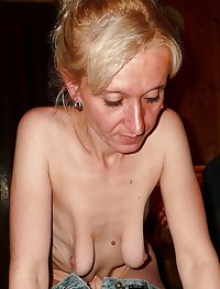 Sagging breasts granny women excite me12