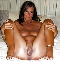 Mature Ladies waiting with legs open