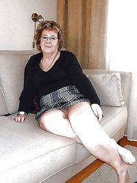 Grannies and matures upskirt 1