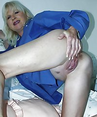 Granny and Mature ass 5