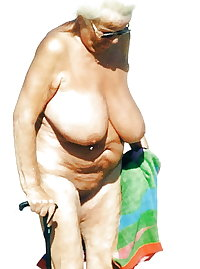 BBW matures and grannies at the beach (1)
