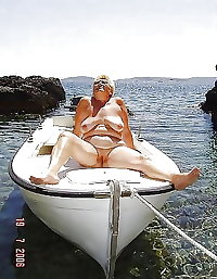 BBW matures and grannies at the beach 139