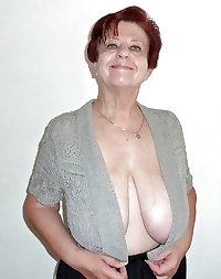 Grannies Cleavage