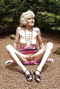 Eine richtige Oma, a real granny