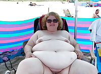 BBW matures and grannies at the beach 279