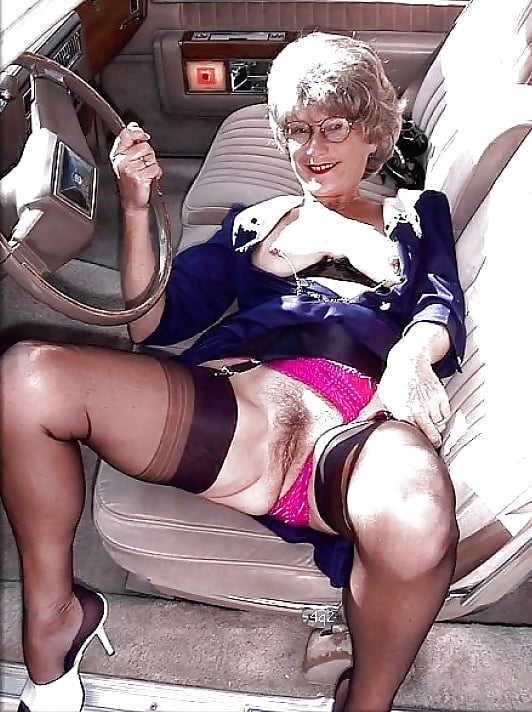 Italienerin Oma Fetter Lutschen